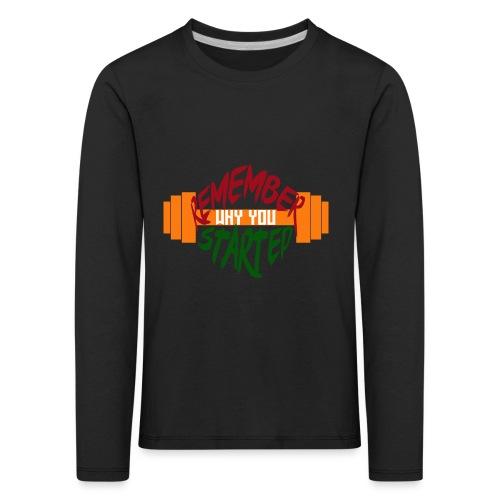 fitness draw - T-shirt manches longues Premium Enfant