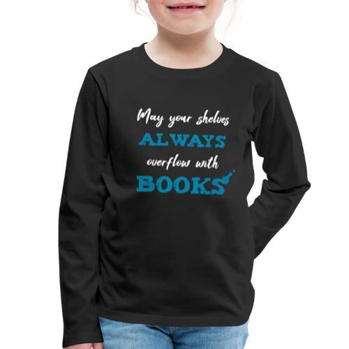0038 author   Writer   Book blogger   reader - Kids' Premium Longsleeve Shirt