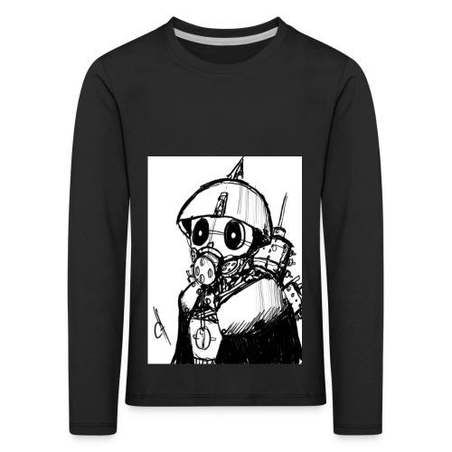 gas man - Camiseta de manga larga premium niño