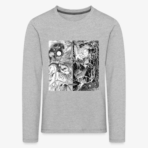 Universe in us all Square edition by Rivinoya - Lasten premium pitkähihainen t-paita