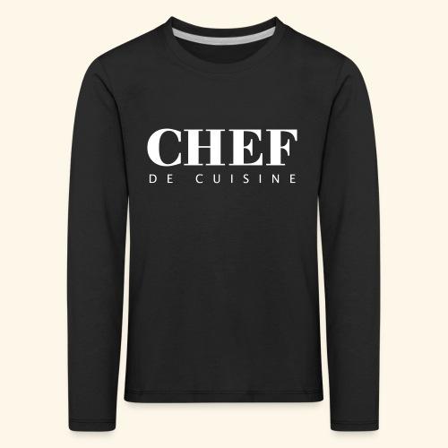 BOSS de cuisine - logotype - Kids' Premium Longsleeve Shirt
