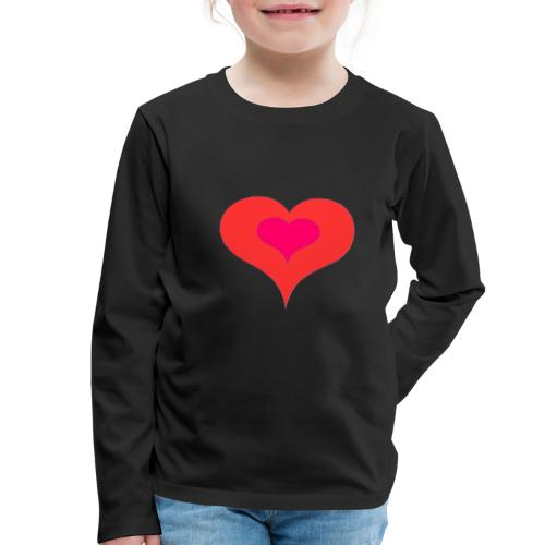 Corazon II - Camiseta de manga larga premium niño