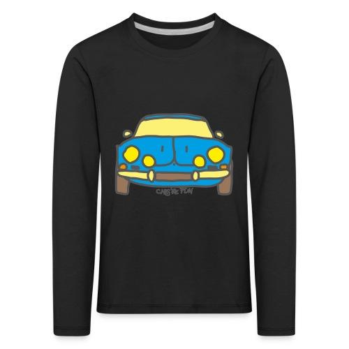 Voiture ancienne mythique française - T-shirt manches longues Premium Enfant