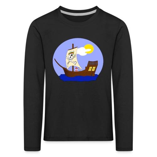 Koggen-T-Shirt für Nachwuchspiraten - Kinder Premium Langarmshirt