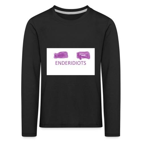 enderproductions enderidiots design - Kids' Premium Longsleeve Shirt