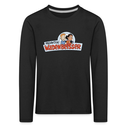 Teenager Premium Langarmshirt Logo - Kinder Premium Langarmshirt