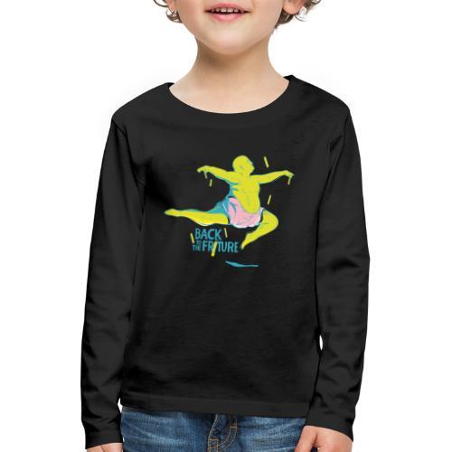 friture-vert - T-shirt manches longues Premium Enfant