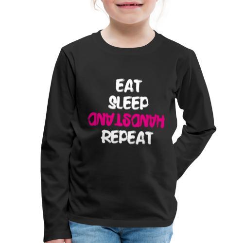 Handstand Shirt Turner Geräteturner Kunstturner - Kinder Premium Langarmshirt