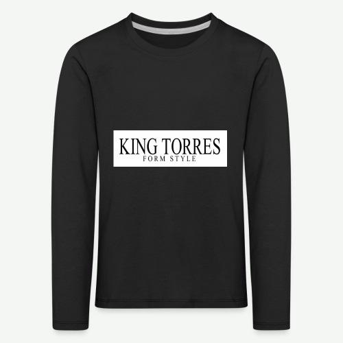 king torres - Camiseta de manga larga premium niño