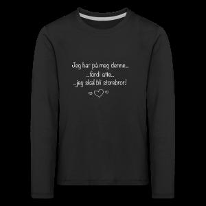 Storebror Collection - Premium langermet T-skjorte for barn
