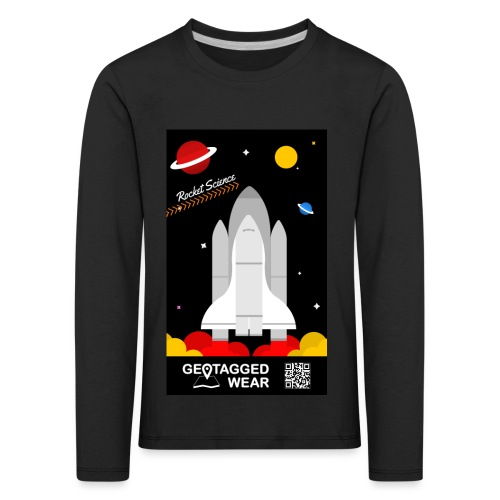 Rocket Science Kids - Kinder Premium Langarmshirt