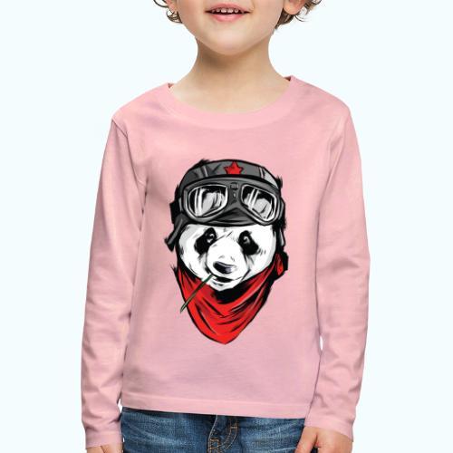 Panda pilot - Kids' Premium Longsleeve Shirt