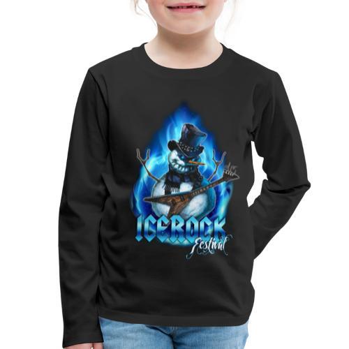 Snowman Evil - Kinder Premium Langarmshirt