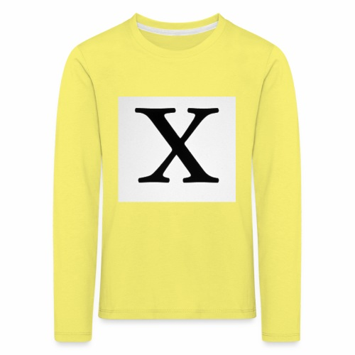 THE X - Kids' Premium Longsleeve Shirt