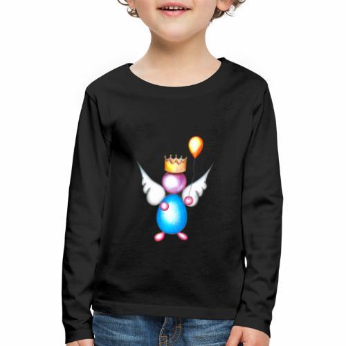 Mettalic Angel geluk - Kinderen Premium shirt met lange mouwen