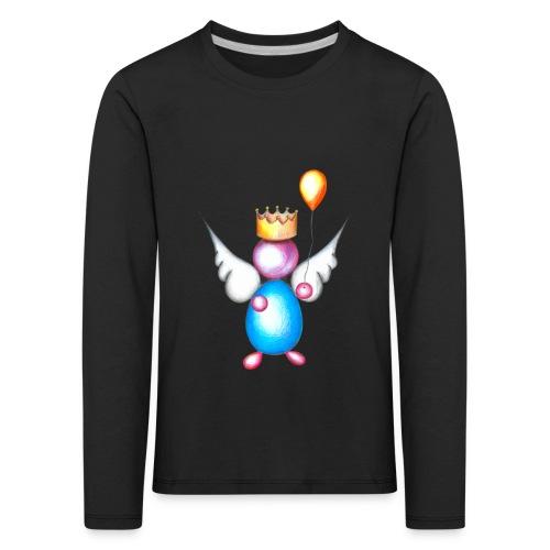 Mettalic Angel happiness - T-shirt manches longues Premium Enfant