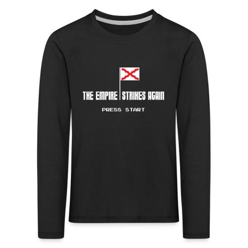 The Empire Strikes Again - Camiseta de manga larga premium niño
