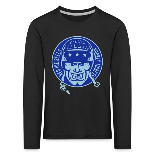 red_ice_sells_hockey_tick - Kids' Premium Longsleeve Shirt