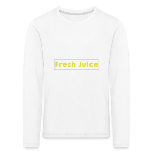 Fresh_Juice - T-shirt manches longues Premium Enfant