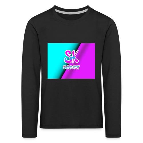 Sk Shirt - Kinderen Premium shirt met lange mouwen