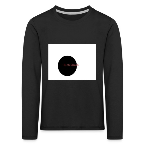 roel en zuzan - Kinderen Premium shirt met lange mouwen