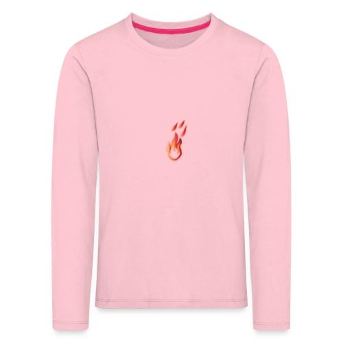 fiamma - Maglietta Premium a manica lunga per bambini