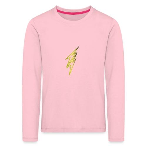 fulmine - Maglietta Premium a manica lunga per bambini