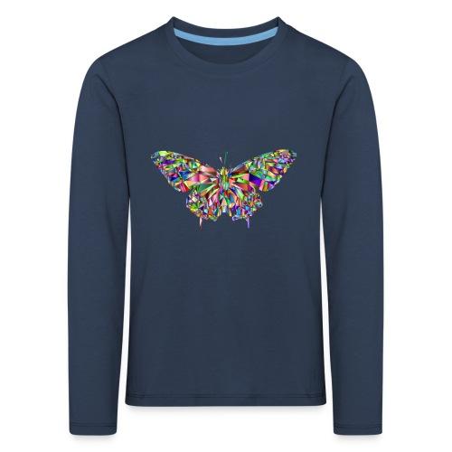 Geflogener Schmetterling - Kinder Premium Langarmshirt