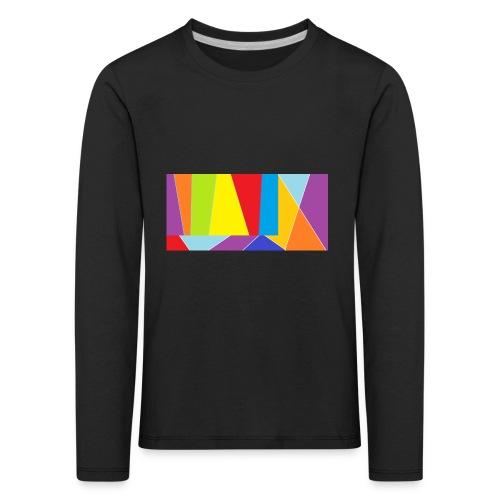 coler full emblem with black bakround - Långärmad premium-T-shirt barn