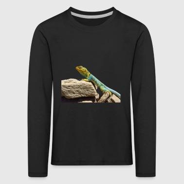 gecko lizard real lizard - Kids' Premium Longsleeve Shirt