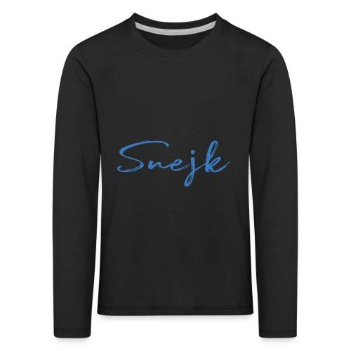 Snejk - Långärmad premium-T-shirt barn