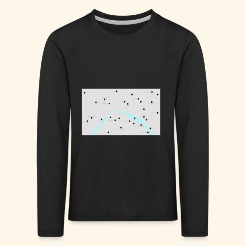Paris - Maglietta Premium a manica lunga per bambini