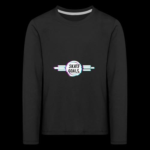 GLITCH SERIES - Kinderen Premium shirt met lange mouwen