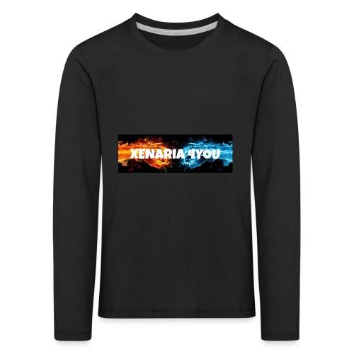 Kolekcja początkowa - Koszulka dziecięca Premium z długim rękawem