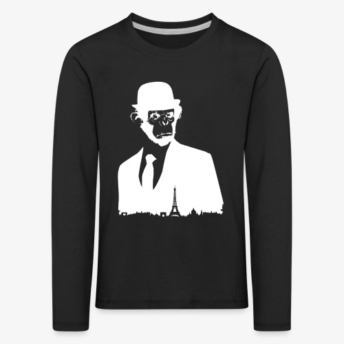 COLLECTION *WHITE MONKEY PARIS* - T-shirt manches longues Premium Enfant