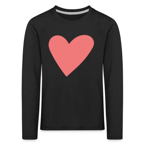 Popup Weddings Heart - Kids' Premium Longsleeve Shirt