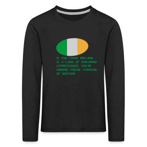 IRELAND MERCH - Kids' Premium Longsleeve Shirt