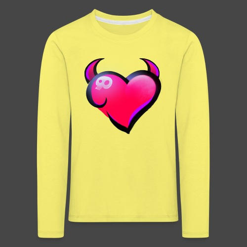 Icon only - Kids' Premium Longsleeve Shirt
