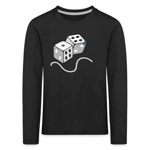 Dice - Symbols of Happiness - Kids' Premium Longsleeve Shirt
