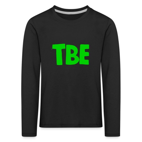 Logo groen - Kinderen Premium shirt met lange mouwen