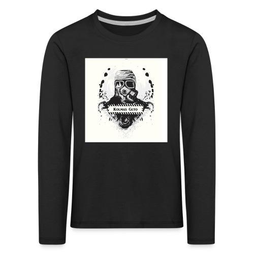 KOLMAS GETO LOGO VALMIS ISO RESOLUUTIO - Lasten premium pitkähihainen t-paita