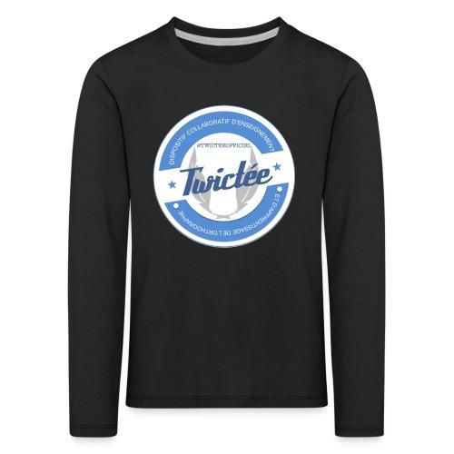 logo twictee - T-shirt manches longues Premium Enfant