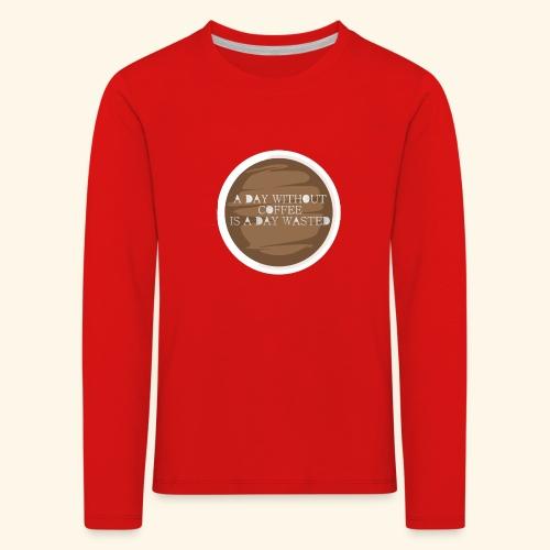 coffee - Långärmad premium-T-shirt barn