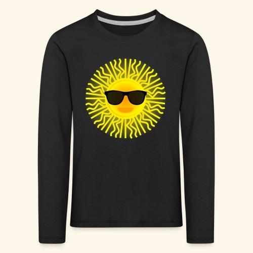 Sol de Canarias - Camiseta de manga larga premium niño