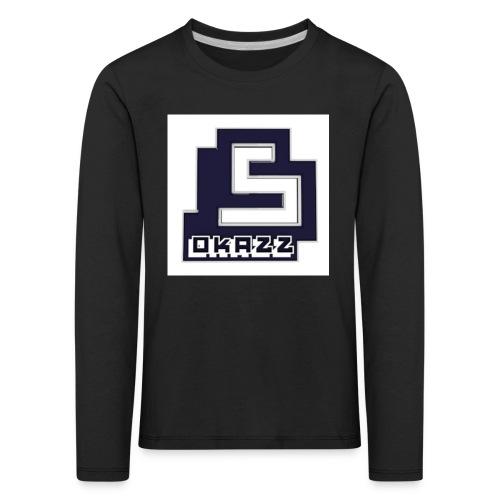 SOKAZZ LOGO - Premium langermet T-skjorte for barn
