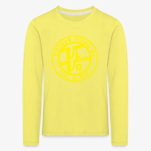 ViVoPAITA transparent - Lasten premium pitkähihainen t-paita