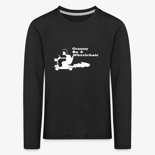 g on wheelchair - Kids' Premium Longsleeve Shirt