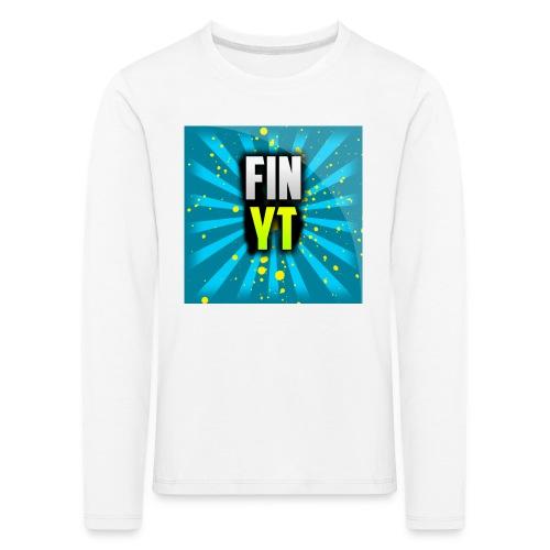 Uusi Youtube Logo - Lasten premium pitkähihainen t-paita