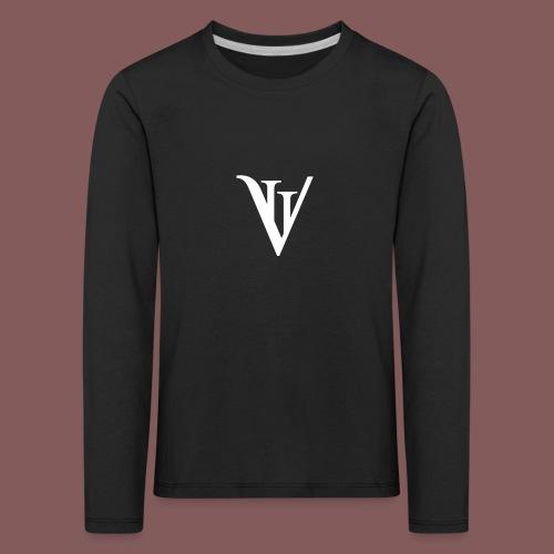 VII blanc - T-shirt manches longues Premium Enfant
