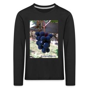 Traube - Kinder Premium Langarmshirt